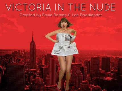 Victoria in the Nude Poster